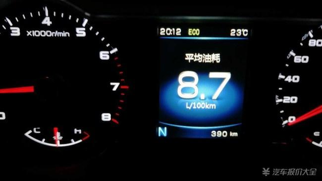 吉利帝豪GS油耗真实是多少 有没有知道的 远景SUV呢 -吉利帝豪GS高清图片