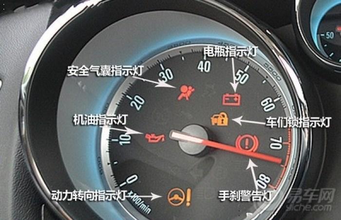 威驰仪表盘指示灯图解