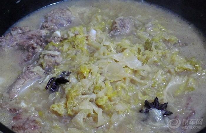 【【我的百变菜谱】白菜炖酸香菇(规定食材)】做法咸鸭腿的排骨大全图片