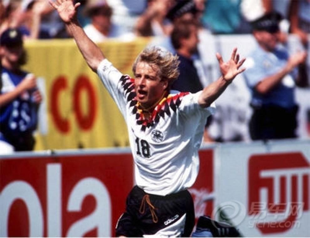 【我与足球明星】金色轰炸机---尤尔根克林斯曼