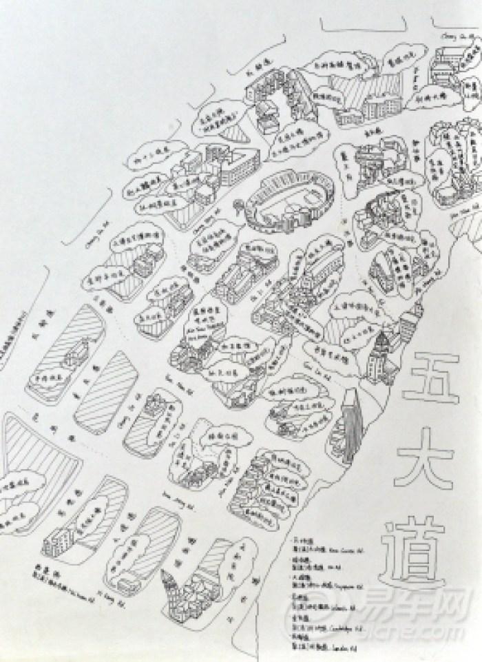 绘制天津休闲地图