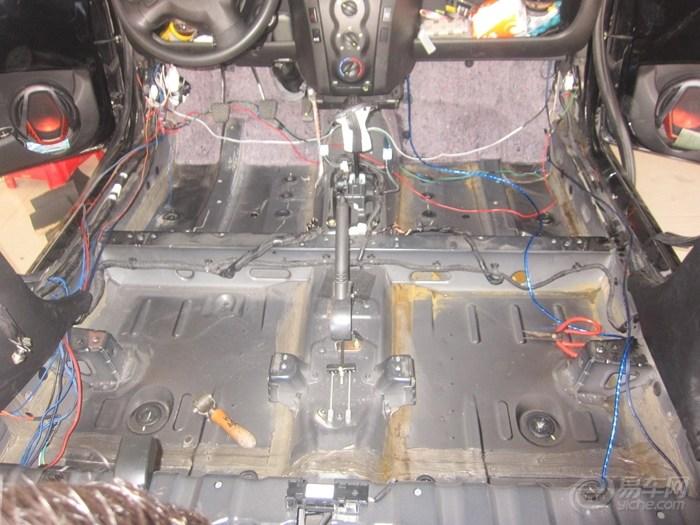 比亚迪F0水箱漏水,静空间隔音挽救泡水底盘 -汽车设计论坛 汽车论坛高清图片