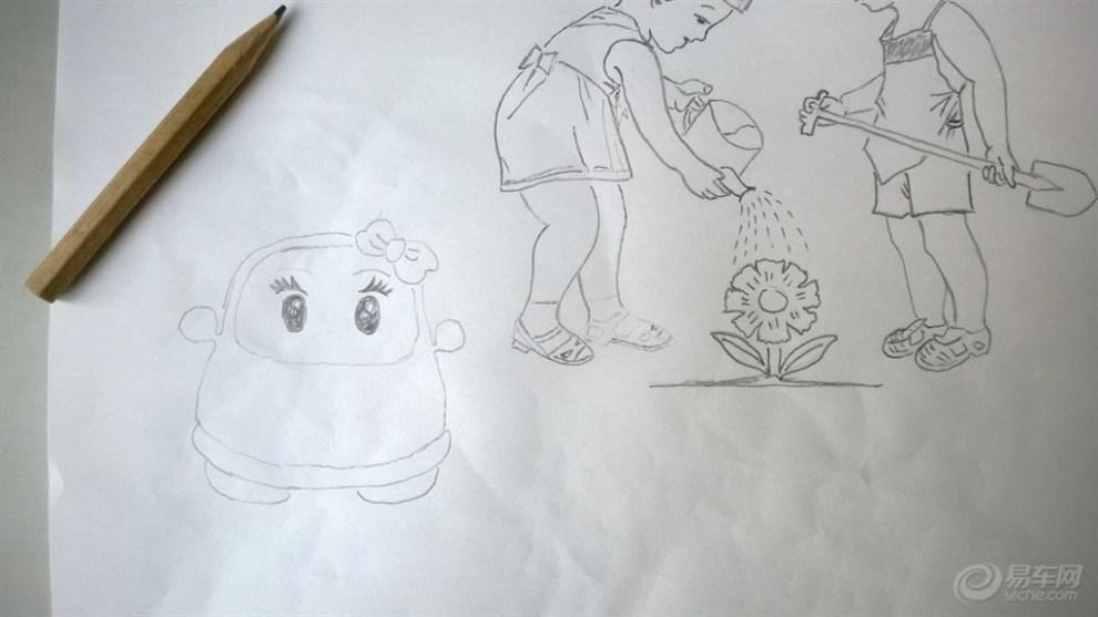 > 美术图片画铅笔画花_美术作品素描玫瑰花  花千骨动漫铅笔画图片