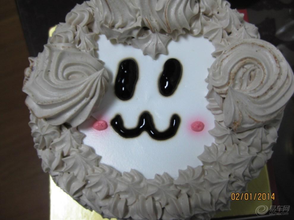 可爱的蛋糕!