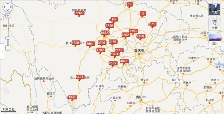 四川红原地图全图