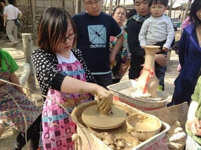 儿童手工制作农家物