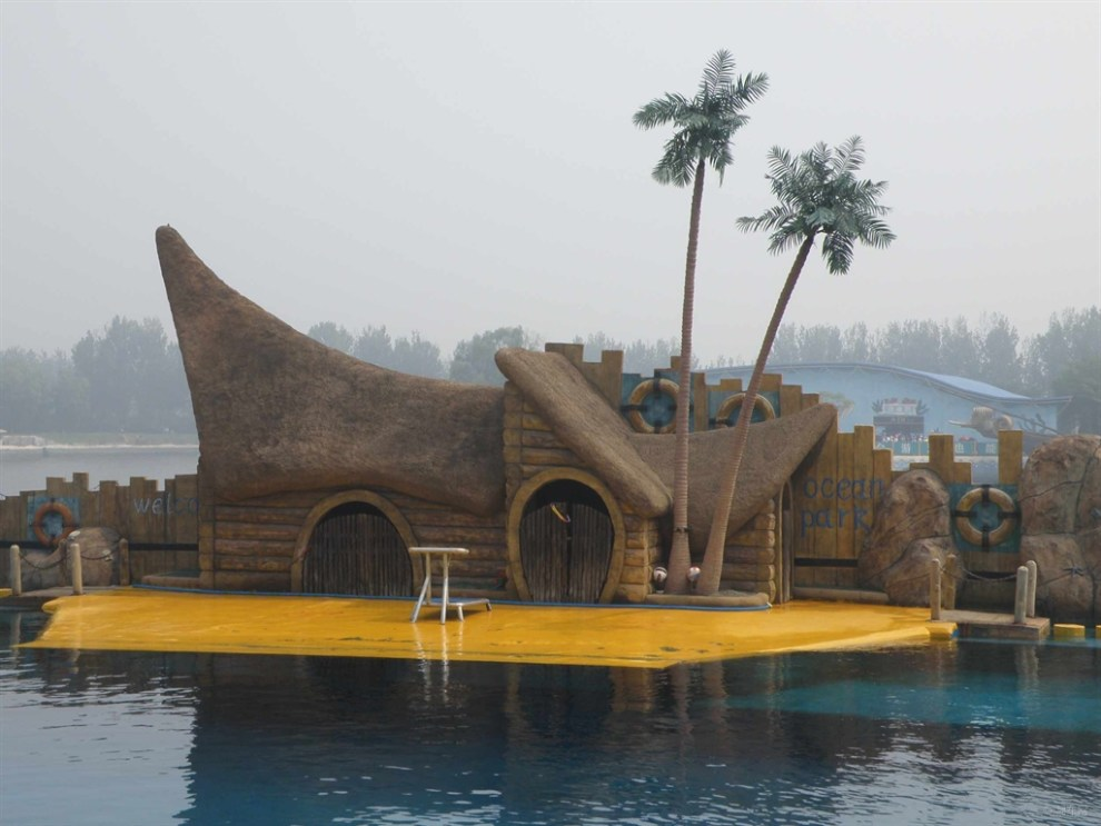 【原创首发】乐岛海洋公园观看海豚表演