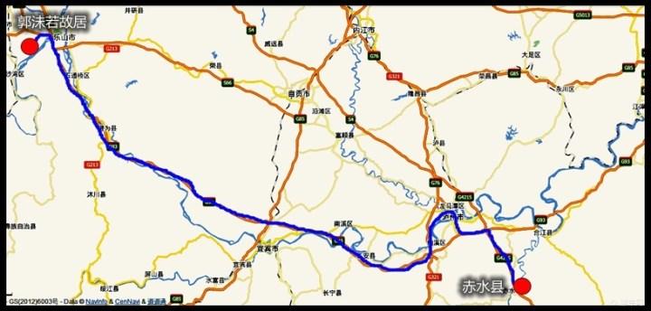 北京到四川泸州自驾游线路问题