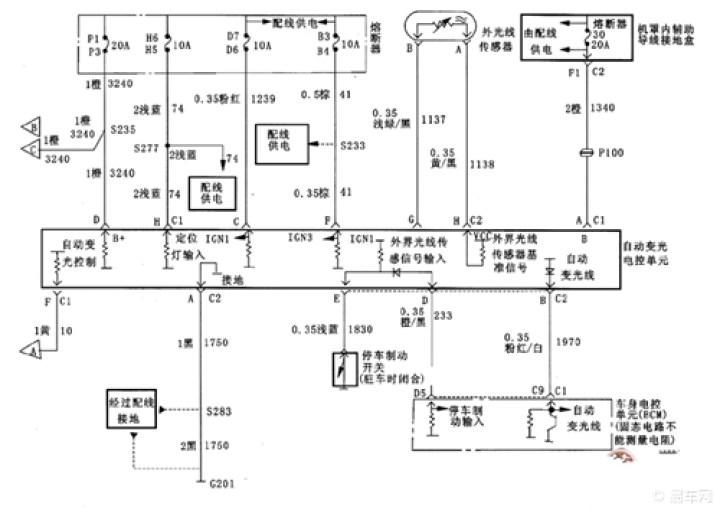 【简单了解一下别克车系的电路图】_v3菱悦论