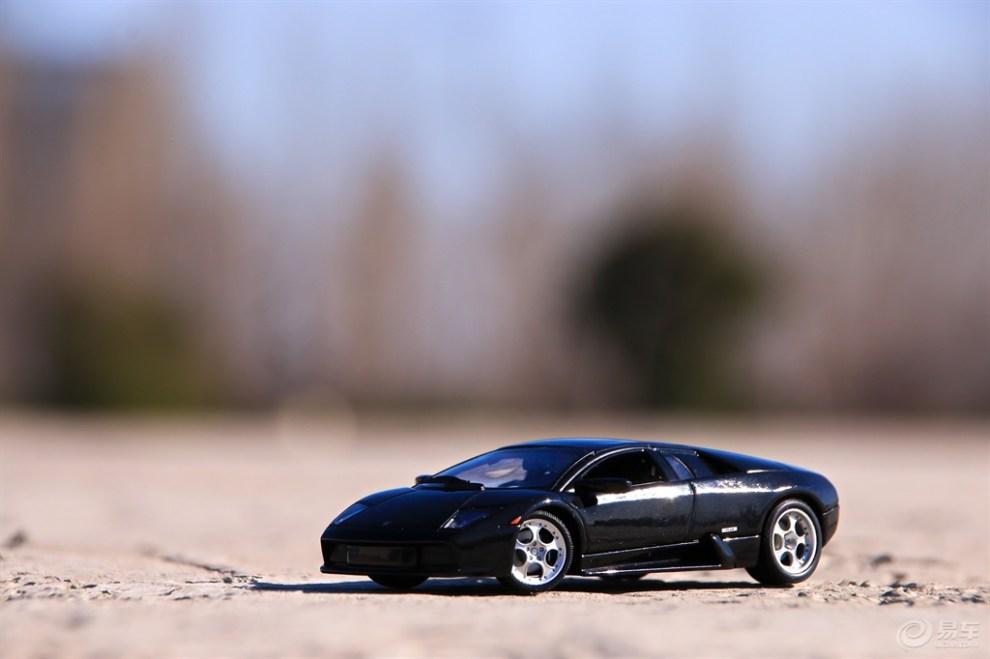 【用城市做背景--------兰博基尼蝙蝠】_汽车模型论坛