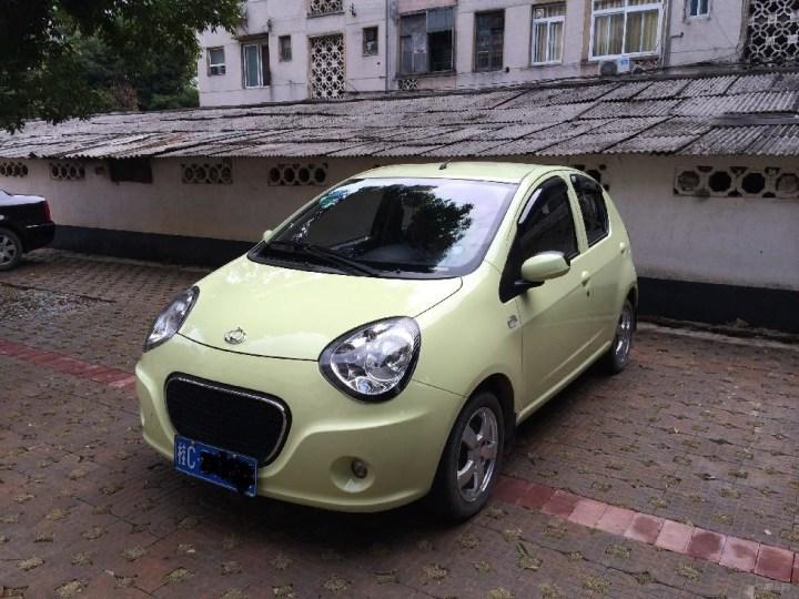 吉利熊猫魅惑绿1.0MT精英型   提车作业