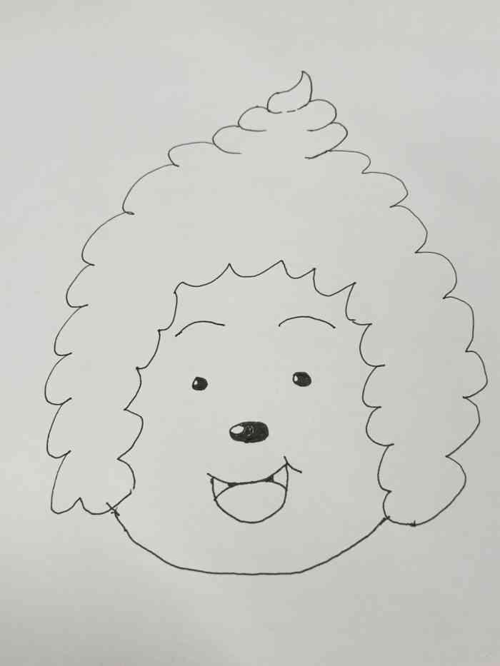 喜羊羊简笔画:美羊羊4