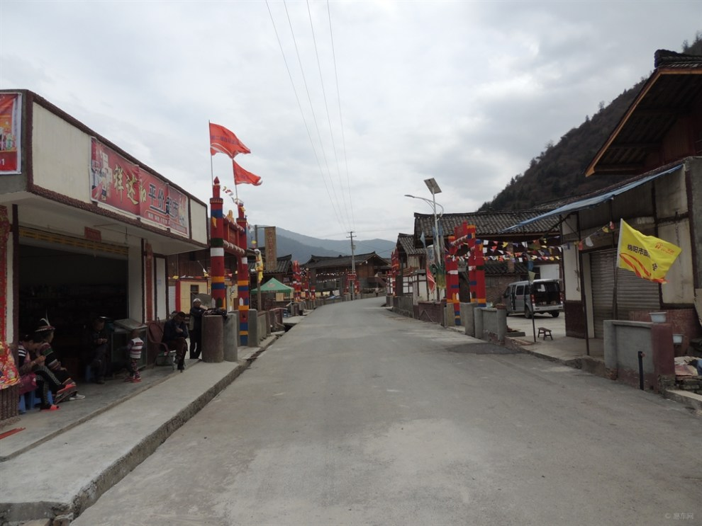 白马藏族风景区自驾游.