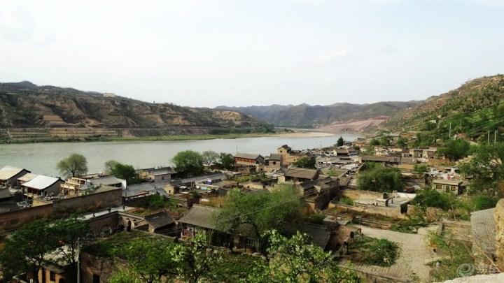 山西风景名胜区碛口古镇