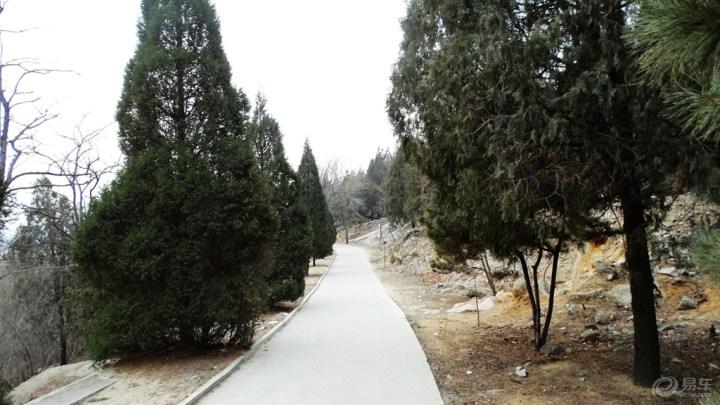 冬游房山白水寺森林公园图片