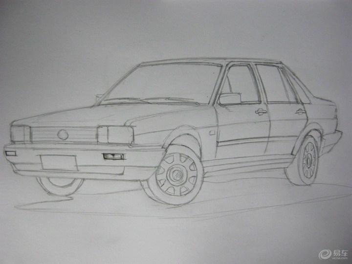 汽车素描图 步骤