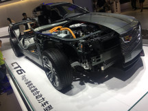 #车展#展台这辆凯迪拉克CT6插电式混合动力车...