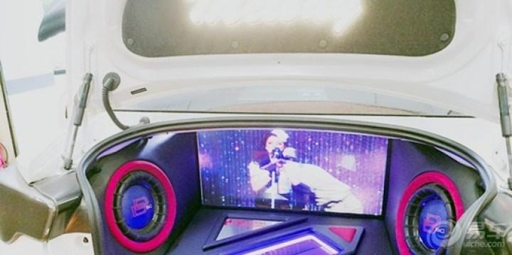 丰田86尾箱炫酷工艺打造-给你带来更多的娱乐生活