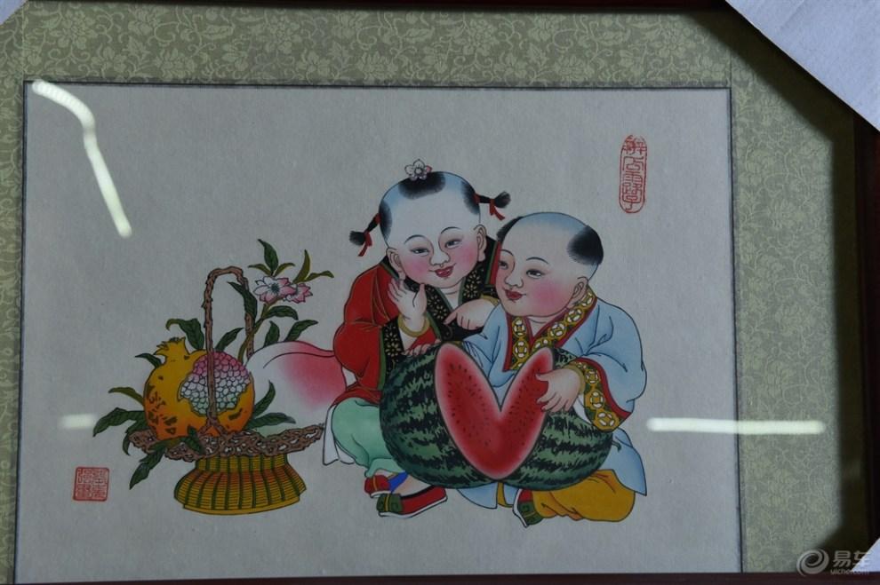 杨柳青年画.