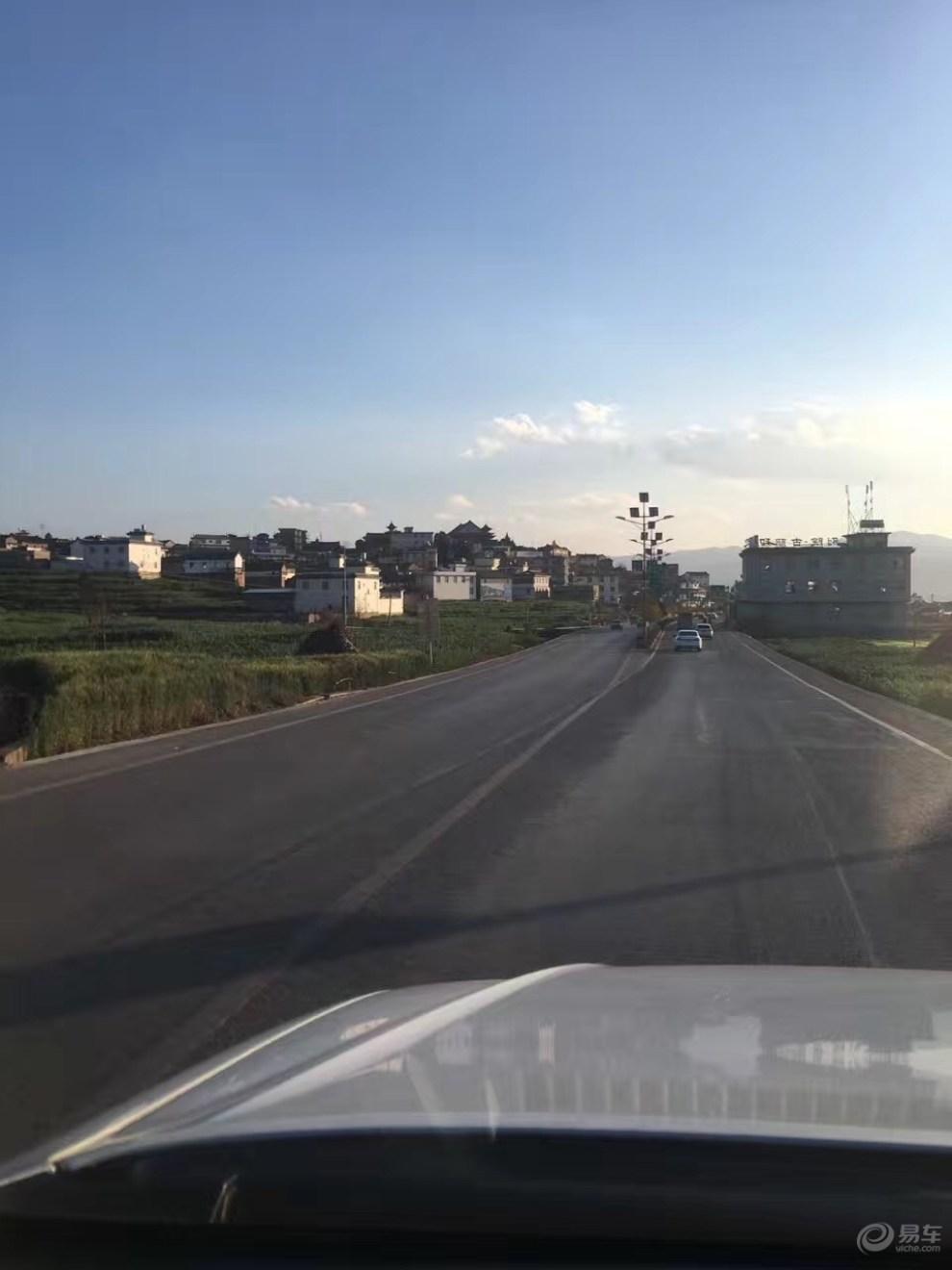 天津市过年道路风景