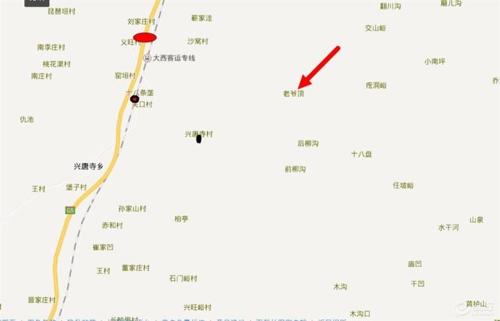 霍山县城地图高清版块