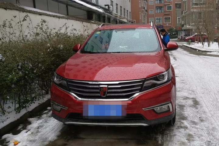雪景与红色RX5更配哦,雪天行车注意事项分享给大家