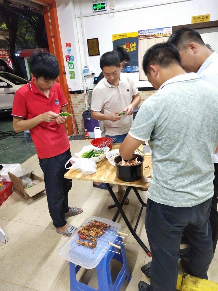 【深圳长安车友会】635寻找之旅2018车友一起烧烤