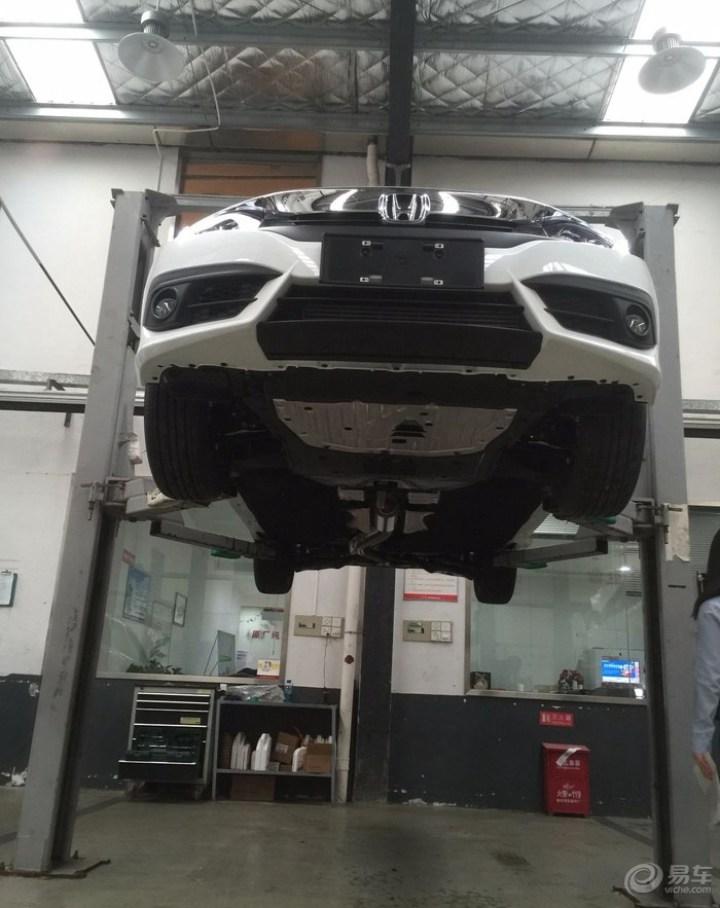 十代思域1.5T自豪提车作业