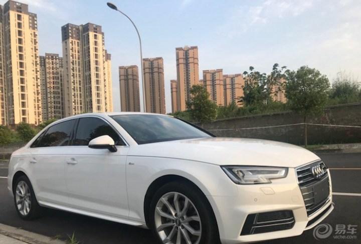 2018款奥迪A4L时尚型小白