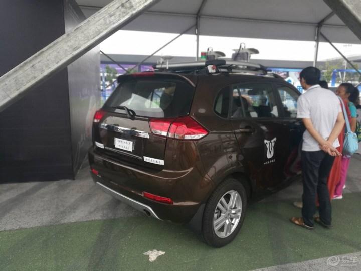 科博会上面看到智尚S30,展示无人驾驶技术