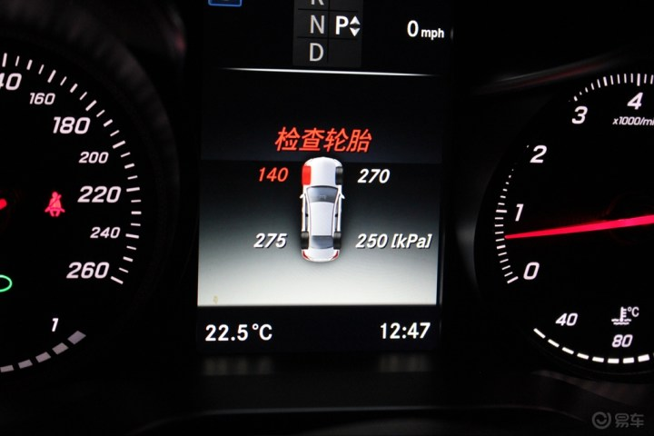 大连奔驰改装 加装胎压监测