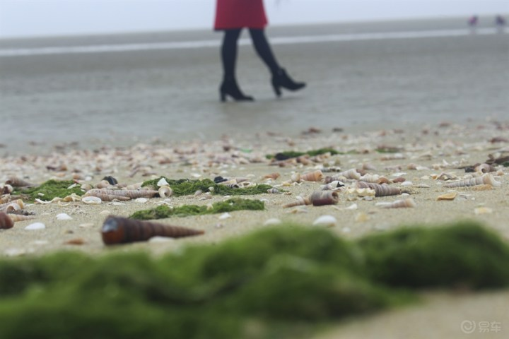 缤瑞,海边的悠闲风