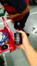 更换汽油滤芯