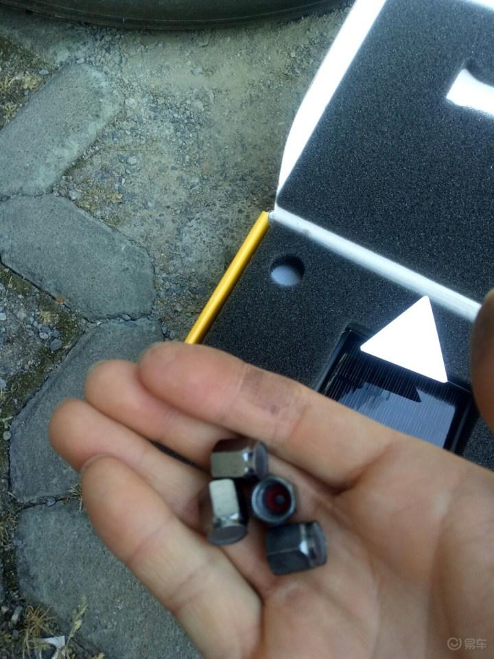 为了行车安全,给车子加装外置胎压监测