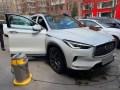 小白换大白,QX50提车作业及用车分享
