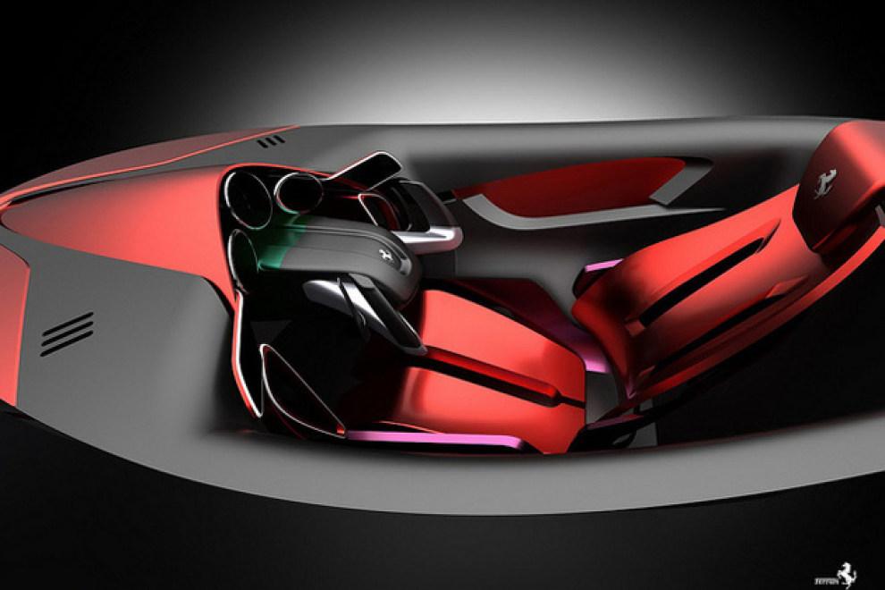 法拉利世界设计大赛获奖作品xezri的细节