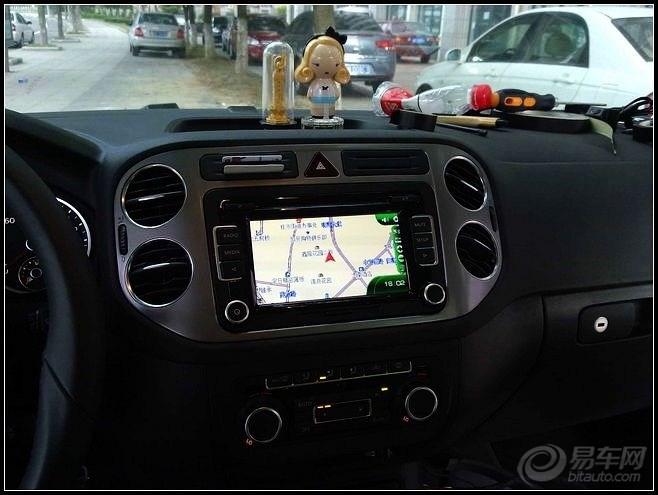 途观1.8精英加装导航 倒车影像 数字电视高清图片