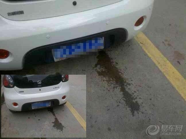车的时候都看到排气管喷水出来,不知道是怎么回事,你们的车有这高清图片