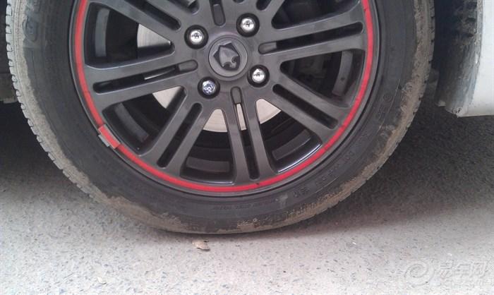 轮胎气压图片