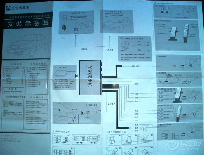 【爱丽舍】2011款加装(原厂)防盗器