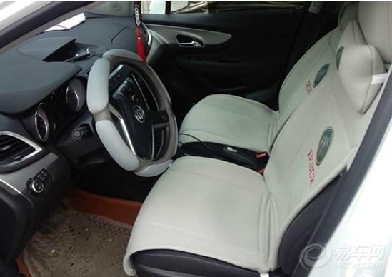 昂科拉1.4T自动两驱精英型提车作业