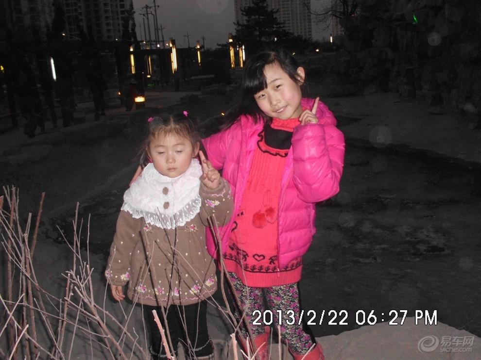 【宝贝成长日记第二期 】130420姐妹俩游小公园