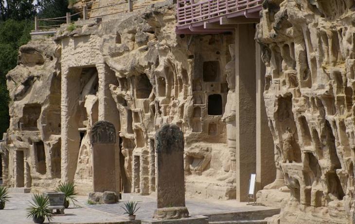 10张照片目的地介绍北石窟寺是甘肃四大石窟之一,包括寺沟...