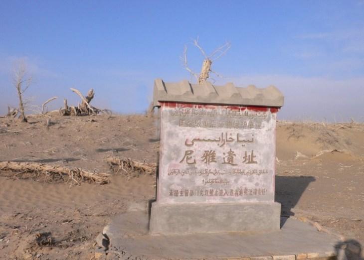 5张照片目的地介绍尼雅遗址是汉晋时期精绝国故址,位于中...